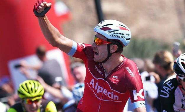 Tour de Omã: Kristoff vence última etapa e Hermans garante o título