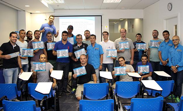 Programa de treinamento começou em 2007 e já formou 9.200 profissionais