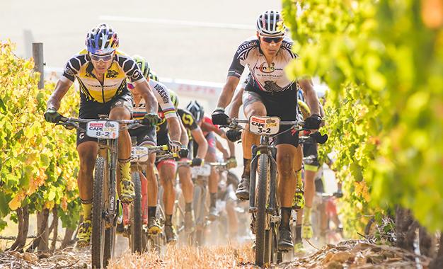 Avancini e Sauser na 4ª etapa da Cape Epic Foto: Ewald Sadie/Cape Epic/SPORTZPICS