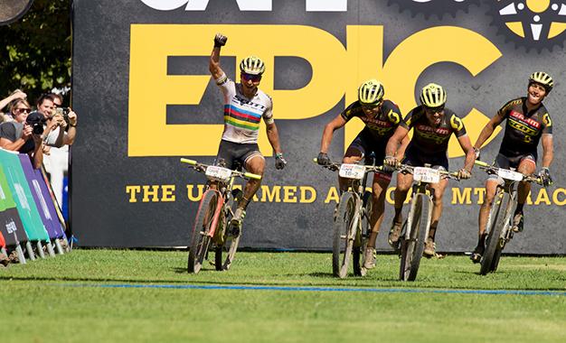 Dobradinha da Scott na 4ª etapa Foto: Greg Beadle/Cape Epic/SPORTZPICS
