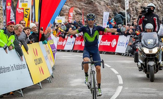 Volta da Catalunha: Valverde bate Froome e Contador e lidera