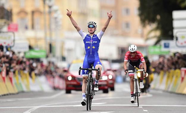 David de la Cruz vence Contador na etapa final