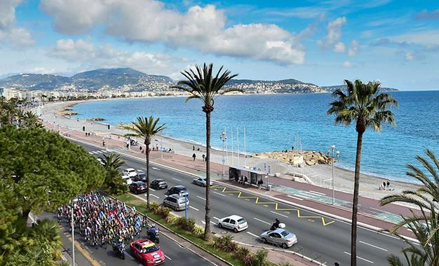 Largada em Nice