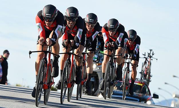 Equipe BMC venceu a crono com velocidade média recorde
