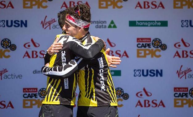 Fumic e Avancini comemoram a segunda vitória seguida na Cape Epic