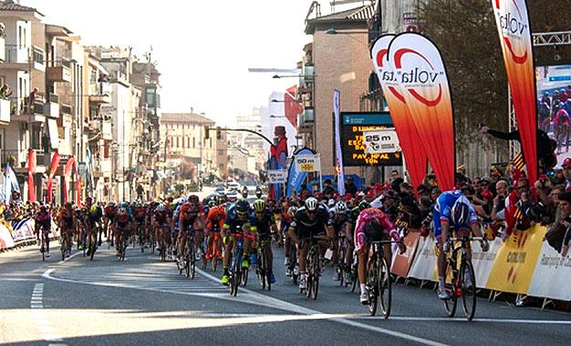 Francês Davide Cimolai venceu no sprint