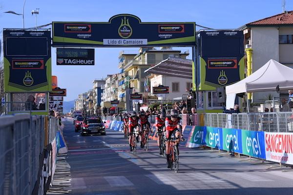 Foram 22,7km em Foto LaPresse/Gian Mattia D'Alberto