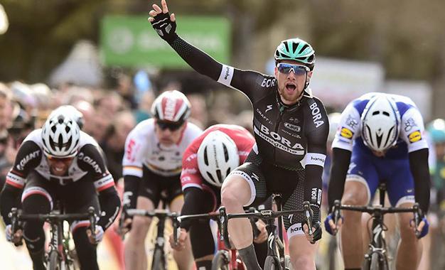 Sam Bennett na vitória da 3ª etapa da Paris-Nice