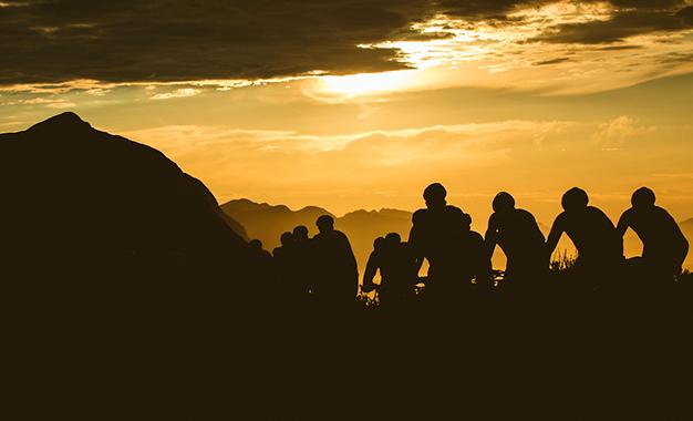 Na 2ª etapa da Cape Epic Foto:Ewald Sadie/Cape Epic/SPORTZPICS