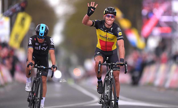 Gilbert conquista a Amstel Gold Race pela 4ª vez