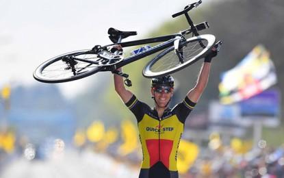 Lesão tira Philippe Gilbert das Ardennes e do Giro D'Itália