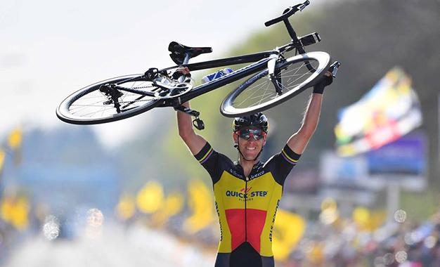 Gilbert na vitória da Amstel Gold Race