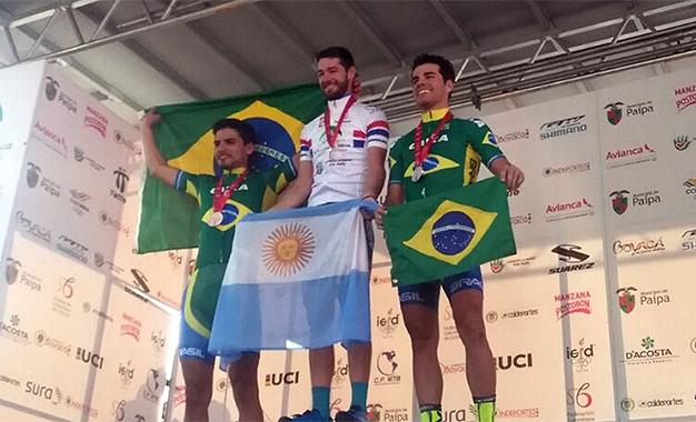 Soto foi ouro, com Avancini e Cocuzzi com a prata e o bronze