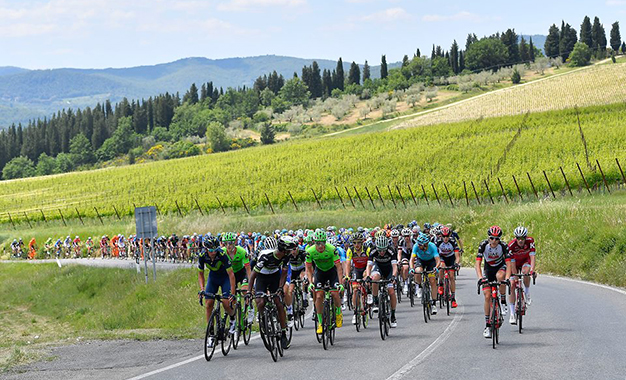 Na 11ª etapa do Giro D'Itália