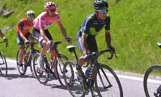 Quintana, Dumoulin e Nibali juntos