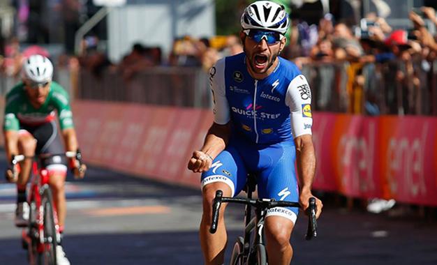 O colombiano Fernando Gaviria vence a 3ª etapa