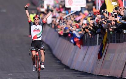 Giro D'Itália: Polanc vence no Etna e Jungels é o novo líder