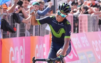 Giro: Nairo Quintana domina Blockhaus e é o novo líder