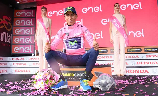 Quintana é o novo maglia rosa