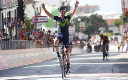 Giro: Gorka Izaguirre vence 8ª etapa; Jungels segura maglia rosa