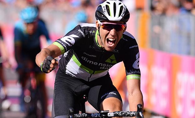 Omar Fraile na vitória da 11ª etapa do Giro