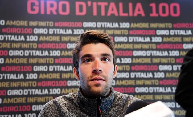 Pinot estreia no Giro D'Itália