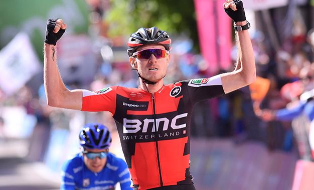 Tejay van Garderen na vitória da 18ª etapa do Giro