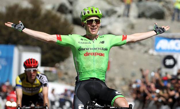 Talanksy na vitória da etapa rainha do Tour da Califórnia