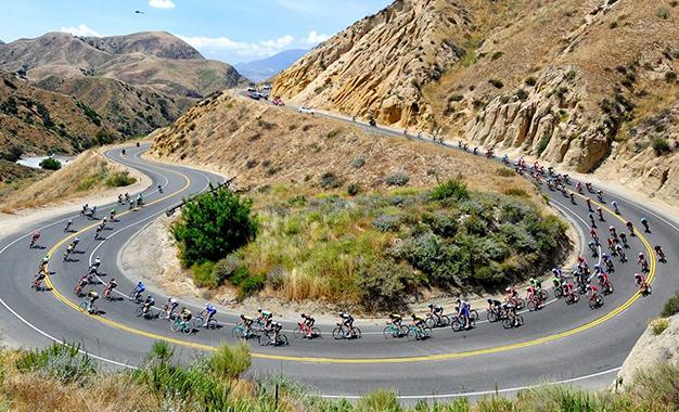 No percurso da 4ª etapa do Tour da Califórnia Foto: Brian Hodes/VeloImages©