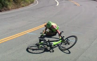 Tour da Califórnia: a grave queda de Tom Skujins na 2ª etapa