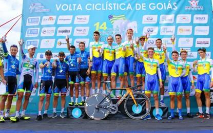Volta de Goiás: Funvic vence contrarrelógio por equipes