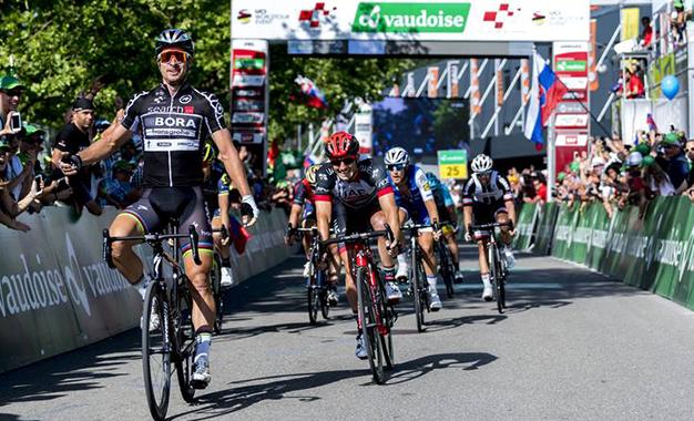 Sagan conquista sua 15ª vitória no Tour da Suíça