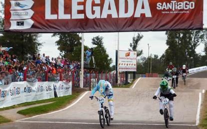 Priscilla Stevaux é prata no Pan-Americano de BMX da Argentina