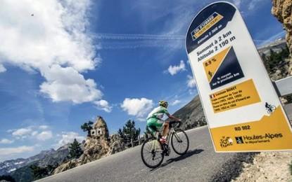 """Selo """"Route du Tour"""" estreia com Col d'Izoard"""