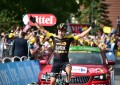 Tour: Roglic em vitória solo; Kittel abandona, Uran é vice