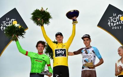 Tour de France: Froome é tetra; Groenewegen vence etapa final