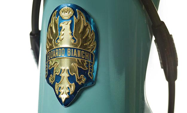 Brasão especial para a Specialissima Pantani