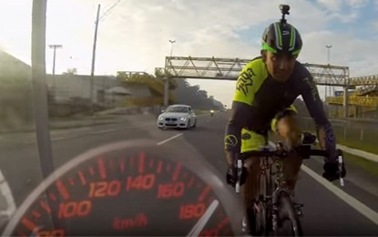 Evandro Portela chega a 180km/h em teste para o recorde mundial
