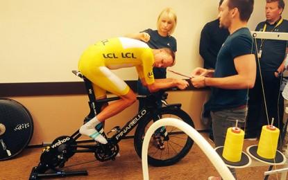 """Tour de France: Froome sem o polêmico """"vortex"""" na crono final"""