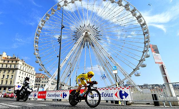 Froome foi o terceiro, a 21s, e garantiu seu 4º título no Tour de France