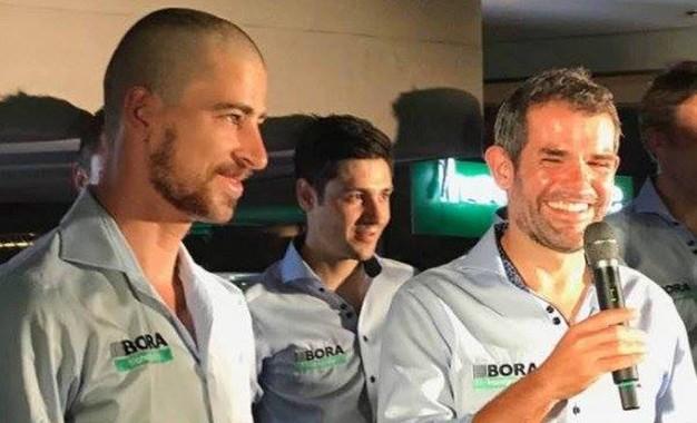 Peter Sagan reaparece com novo visual e confirma Tour da Polônia