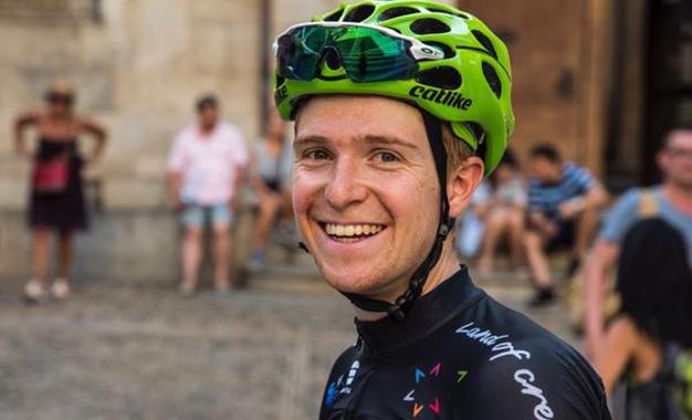 O brasileiro Nícolas Sessler é estagiário na Israel Cycling Academy