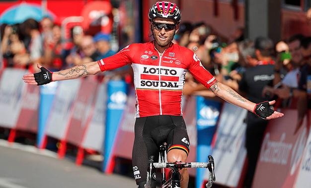 Tomasz Marczynski na vitória da 12ª etapa