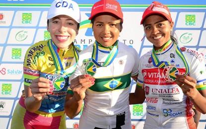 Clemilda Fernandes é campeã brasileira pelo 3º ano seguido