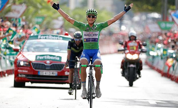 Trentin vence 10ª etapa da Vuelta