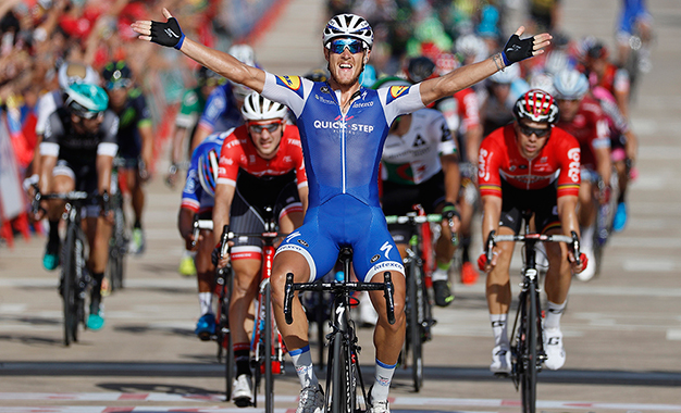 Trentin na vitória da 4ª etapa da Volta a Espanha