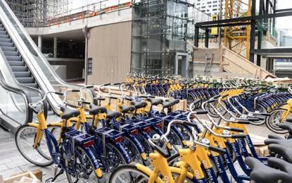 Holanda inaugura maior bicicletário subterrâneo do mundo para 12.500 bikes