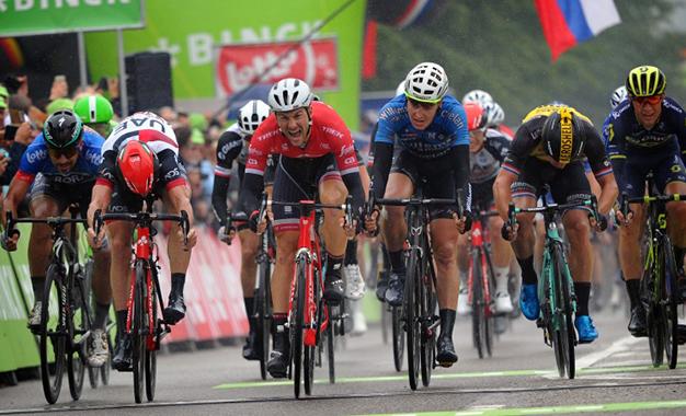 Sagan foi o 4º colocado no sprint