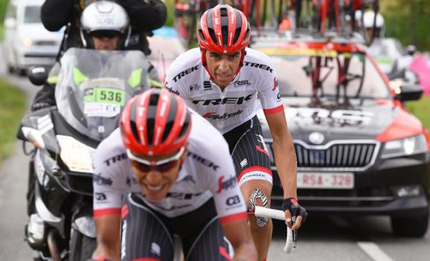 Contador vai repetir trabalho com Pantano no Tour de France na Vuelta