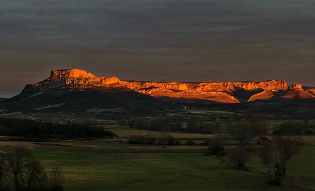 Alto de los Machucos, na região da Cantabria, norte da Espanha